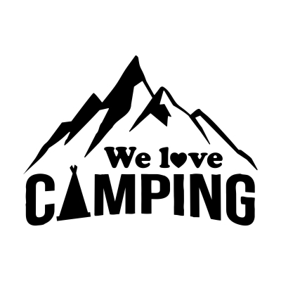 We love camping #3 (Stk.)