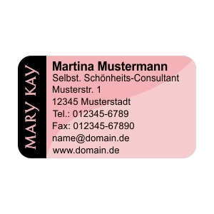 Mary Kay Adress Etiketten Design #2 (480 Stk.)