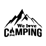 We love camping #2 (Stk.)