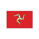 Flagge Isle of Man (Stk.)